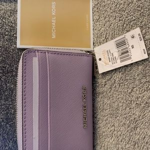 Michael Kors Leather Card Case 💜